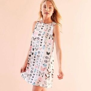 Urban Outfitters Kimchi Blue Pink Butterfly Dress